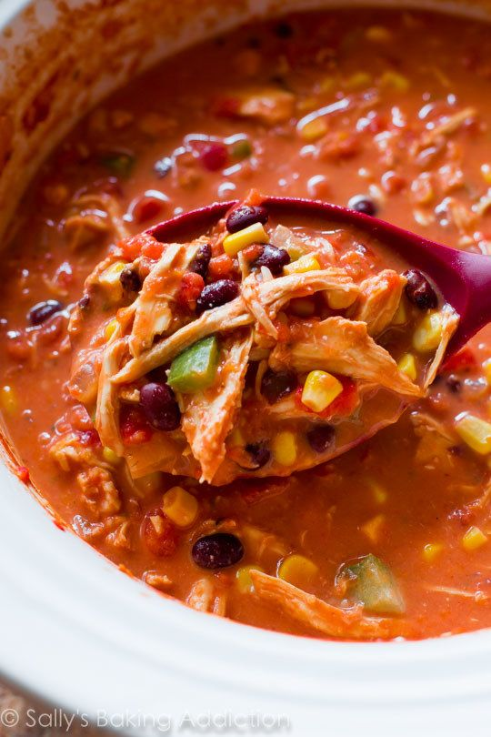Slow Cooker Chicken Chili | These Are The Recipes You Need To Try In 2017