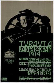 Királyi Magyar Automobil Club Túraút a Kárpátokban