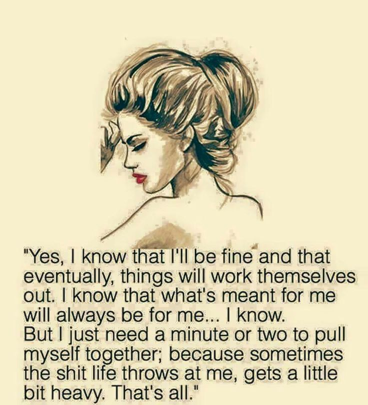 Sometimes I just need a nice long hug, that's all. I know I got this, but it doesn't hurt to have some back up.