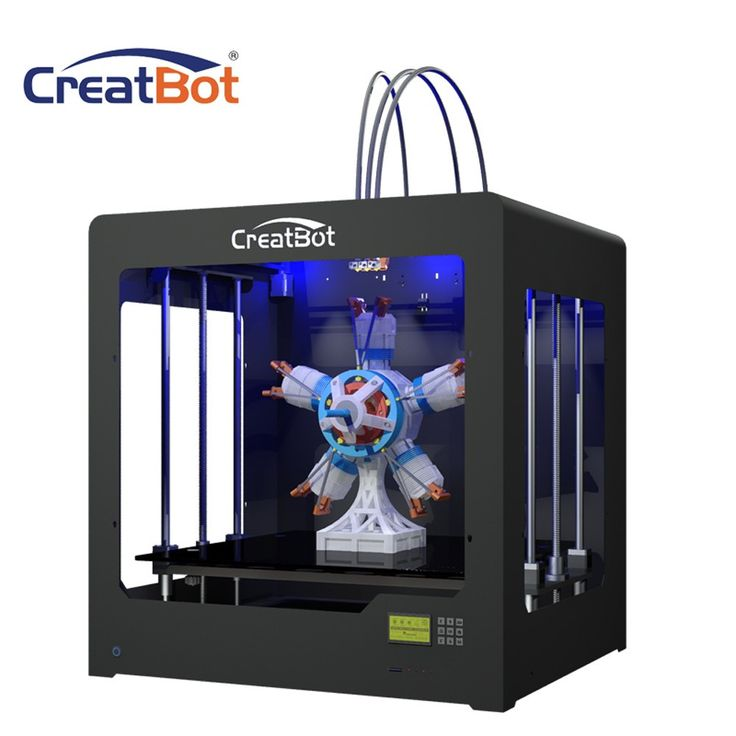 70 best 3d printer images on pinterest printers 3d printer kit creatbot printer takes large scale printing to a new level with a build size of x x and a build volume of 216 litres youre not restricted by what you can fandeluxe Images