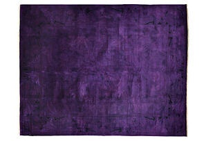 One Kings Lane - Uncommon Ground - 81x104 Yangon Rug, Purple