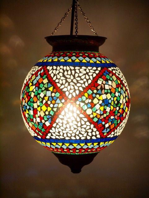 Party Time Mosaic Lantern