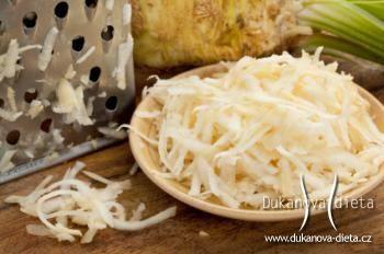 Salát ze syrového celeru Dukanova dieta