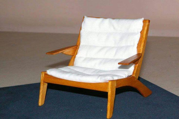 Mini model - Carlos Motta Chair (By Luísa Spíndola)