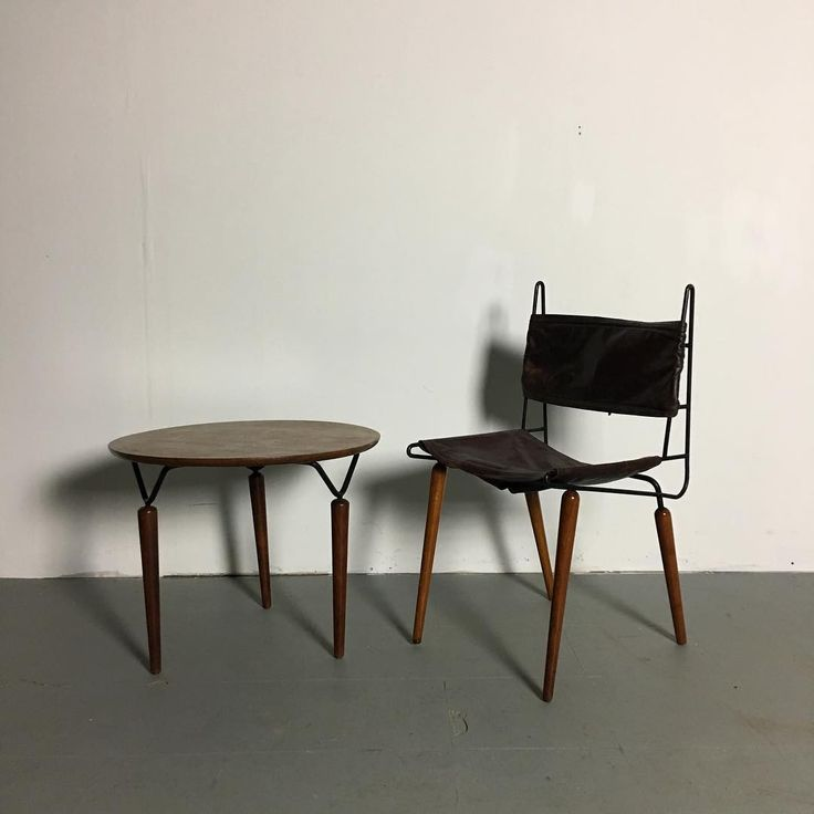 """242 Likes, 17 Comments - @flat_planes on Instagram: """"Allan Gould chair and side table NFS #allangould #twofortuesday #iron #midcentury #midcenturyiron…"""""""