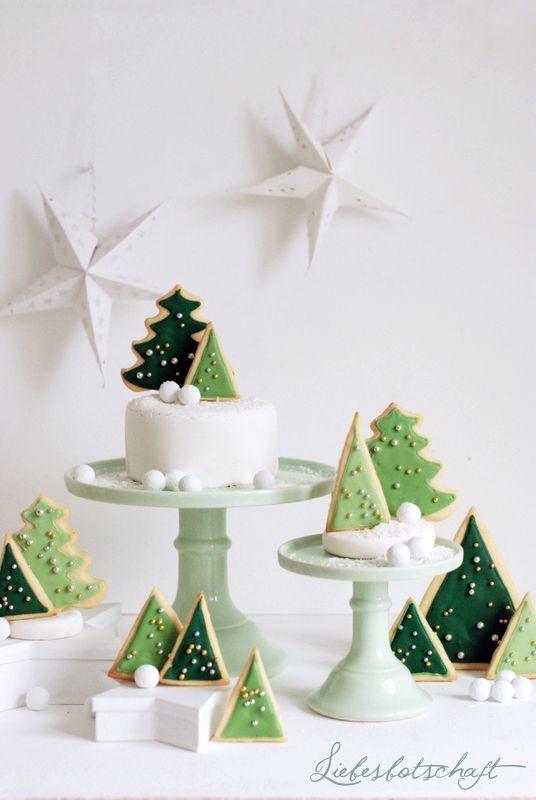 Schöne diy Weihnachtsdeko und Plätzchen - http://schoenstricken.de/2014/12/schoene-diy-weihnachtsdeko-und-plaetzchen/