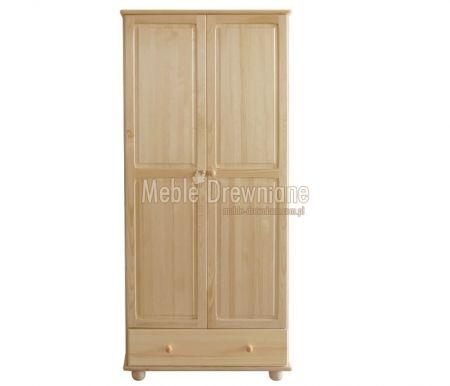 Szafa drewniana sosnowa [14] Meble Drewniane - meble sosnowe producent, łóżka, komody, witryny
