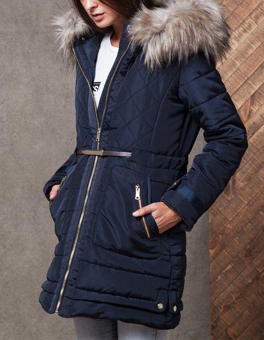 98 best Padded coats images on Pinterest   Ladies coats, Faux fur ...