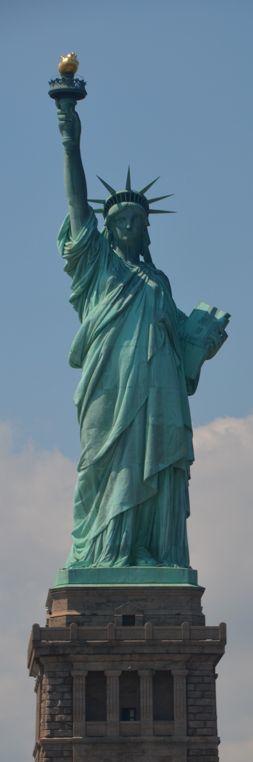 Statue of Liberty - Upper NY Bay on Liberty Island, designed by Frederic Bartholdi -  New York City | US