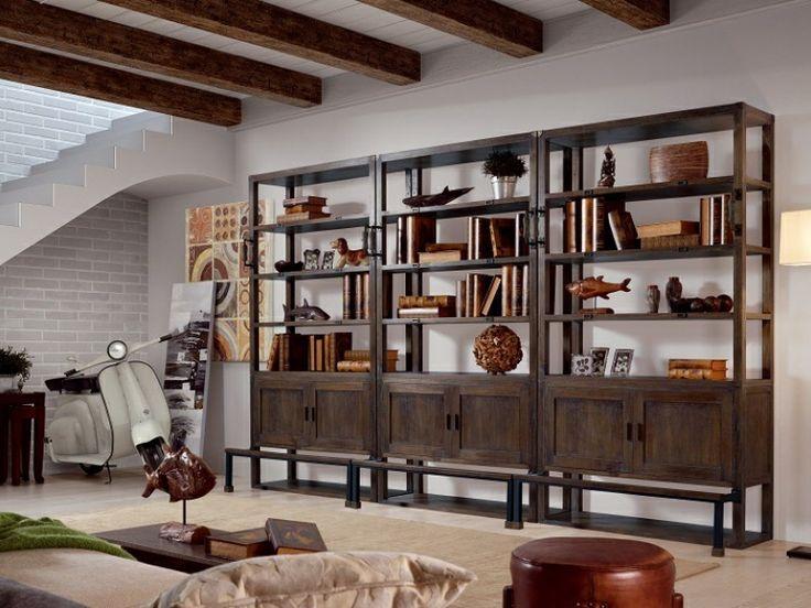estanter a industrial decoracion muebles industrial