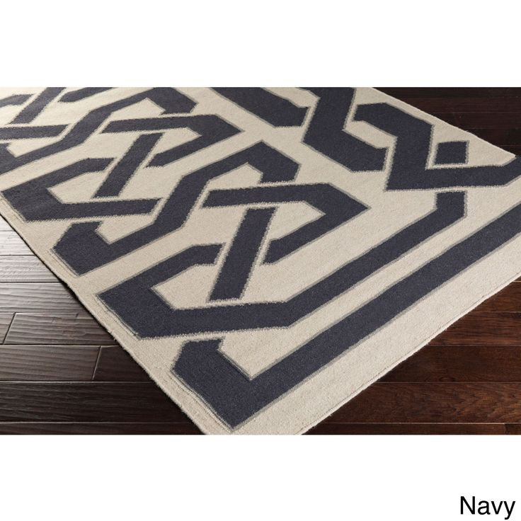 Add A Trendy Element To Your Décor With This Contemporary Abstract  Patterned Rug. Hand