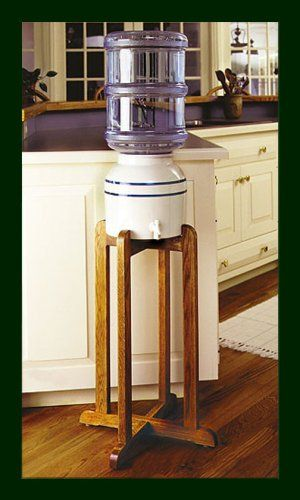 Porcelain Water Dispenser Blue Stripe with Wooden Stand Coldkeepers,http://www.amazon.com/dp/B0006Q3PVE/ref=cm_sw_r_pi_dp_iYqJsb1EAB34AQZZ $72.10