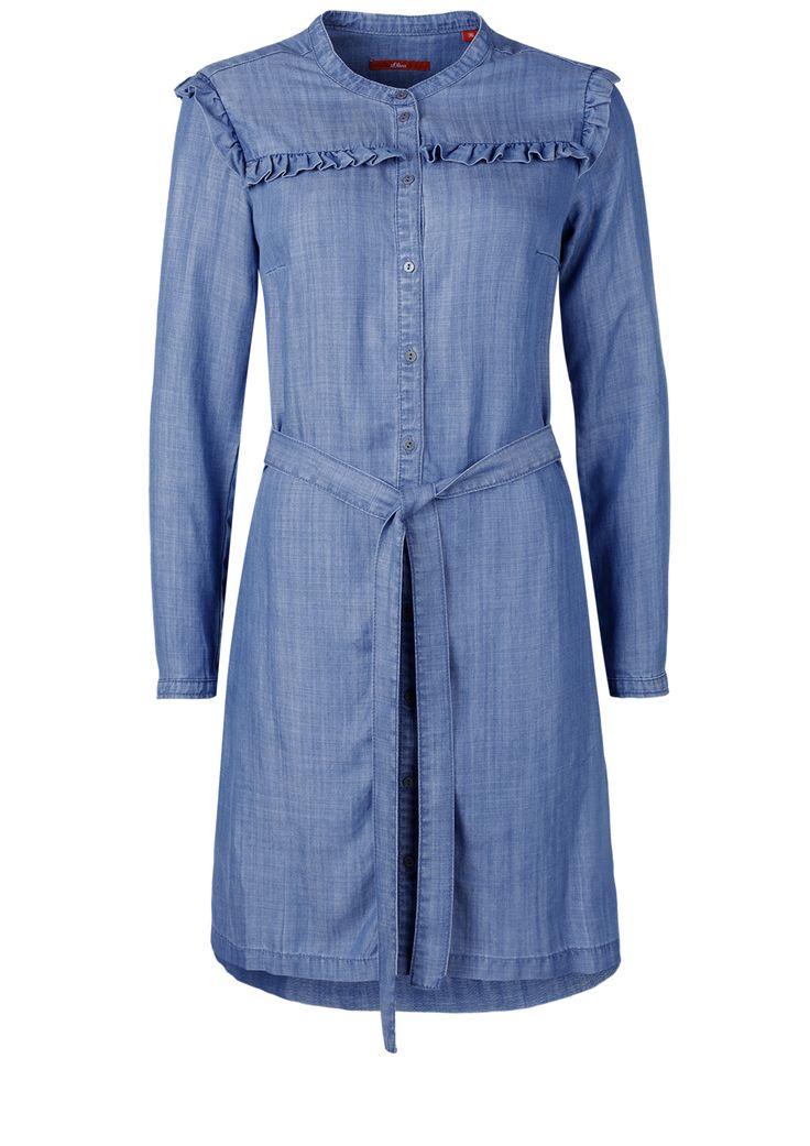 Jeanskleid Jetzt bestellen unter: https://mode.ladendirekt.de/damen/bekleidung/kleider/jeanskleider/?uid=d5c97c27-395d-501c-ba1c-5bcfe9ac9dfd&utm_source=pinterest&utm_medium=pin&utm_campaign=boards #jeanskleider #damen #casual #kleider #bekleidung
