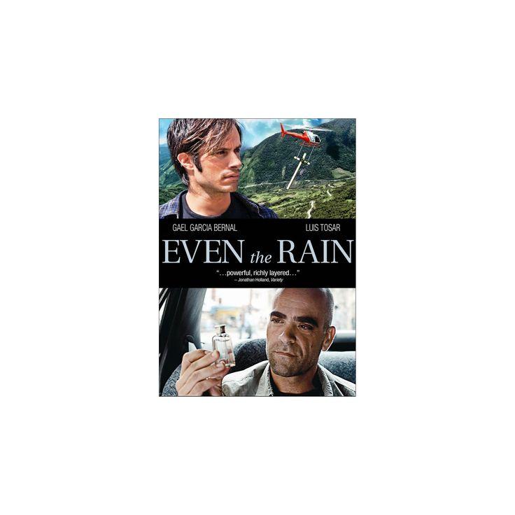 Even the rain (Dvd), Movies