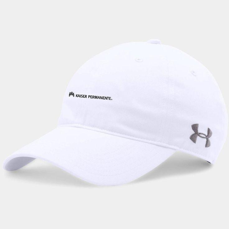 Kaiser Under Armour White Chino Cap