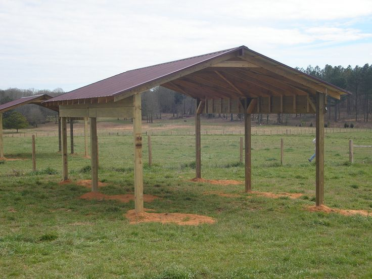 Simple pole barn shed pinteres for Building a house out of a pole barn