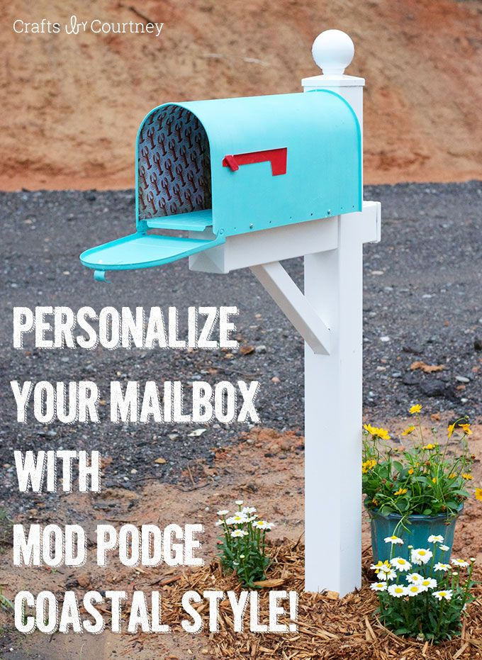 136 best MAIL BOX decor images on Pinterest | Mailbox ideas, Mail ...