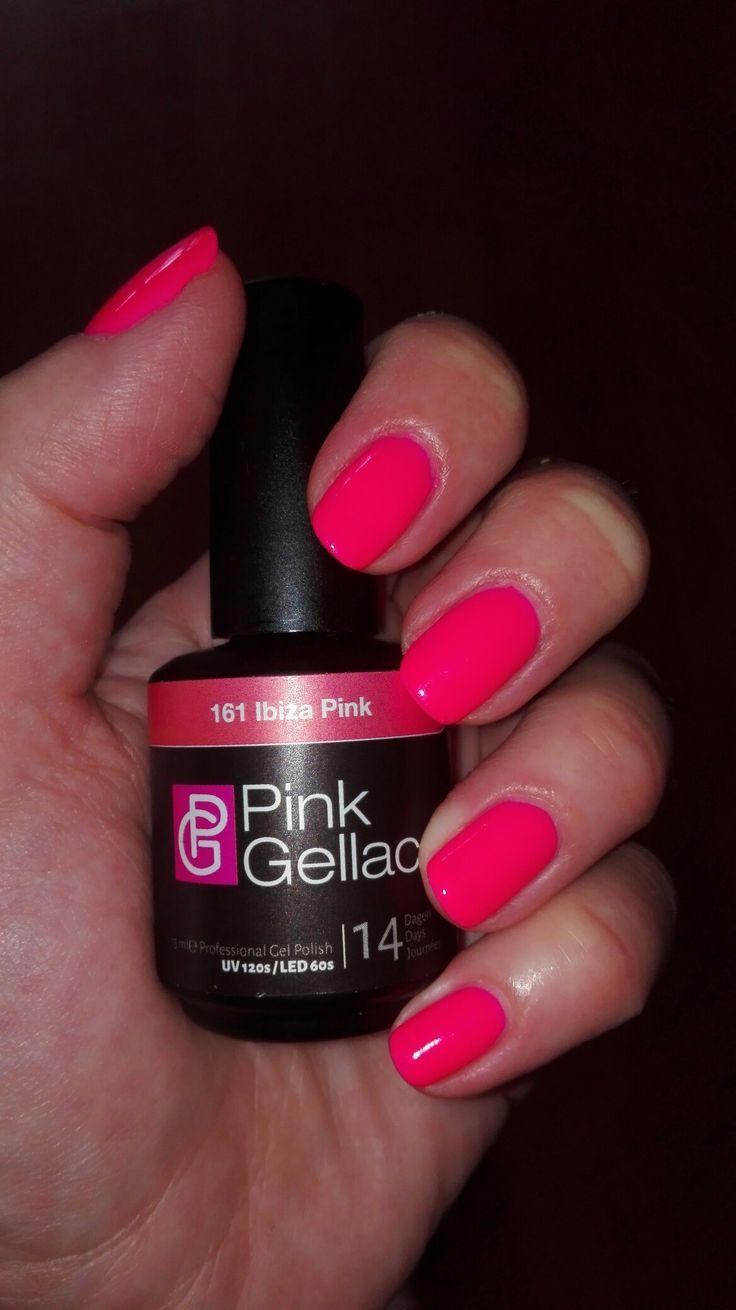 Pink gellac 161 ibiza pink