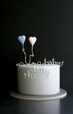 Sugarplum Cake Shop ~ Perfect for a baby shower~❥