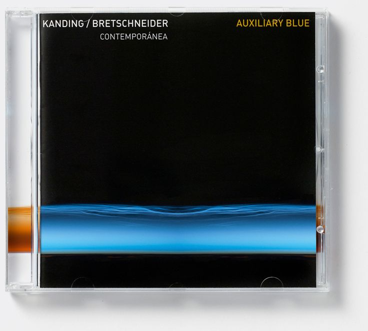 Ejnar Kanding/Frank Bretschneider 'Auxiliary Blue' (Dacapo Records). Album cover art: Denise Burt. Read the story about how the cover artwork was designed on http://seeingnewmusic.com/story/auxiliary-blue/?cat=featured&term=&offset=10 #albumart  #artmusic  #contemporaryclassical