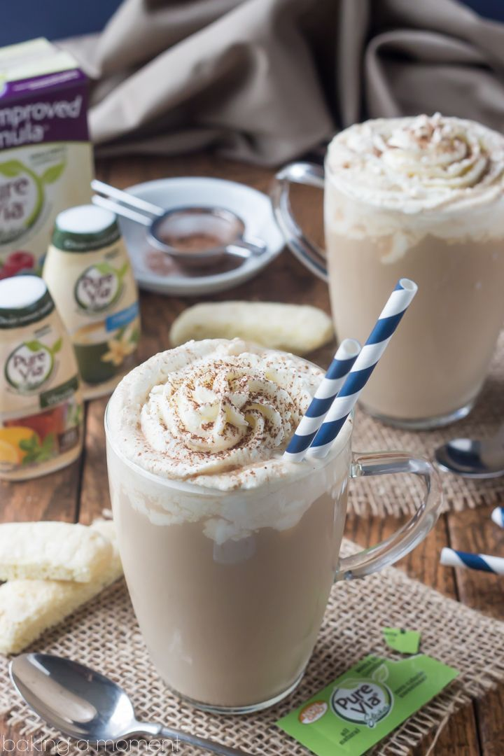 Tiramisu Latte- Such a delicious sip! Loved the rich coffee with rum, and that mascarpone whipped cream is amazing! @purevia @ad