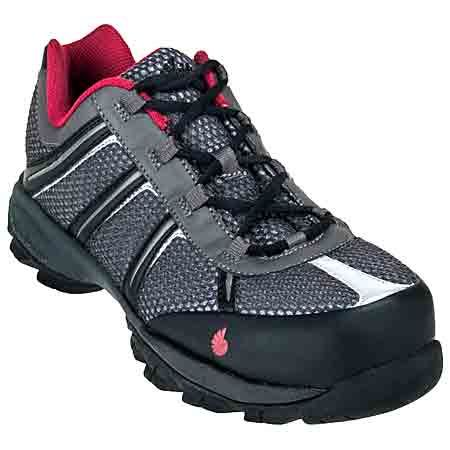 Nautilus Men's Steel Toe N1343 ESD Grey/Black Shoes