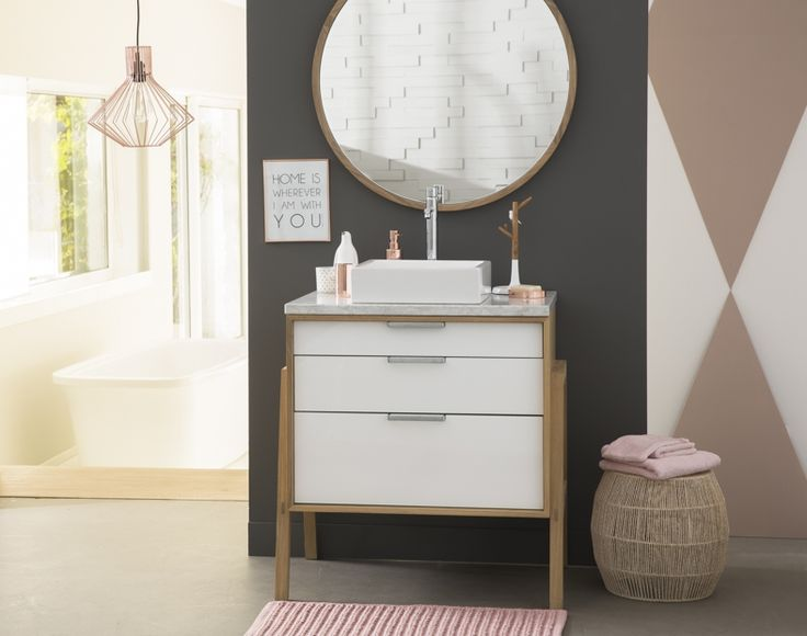 Line Art Bathroom Furniture : Best line art teak oak bathroom vanities furniture