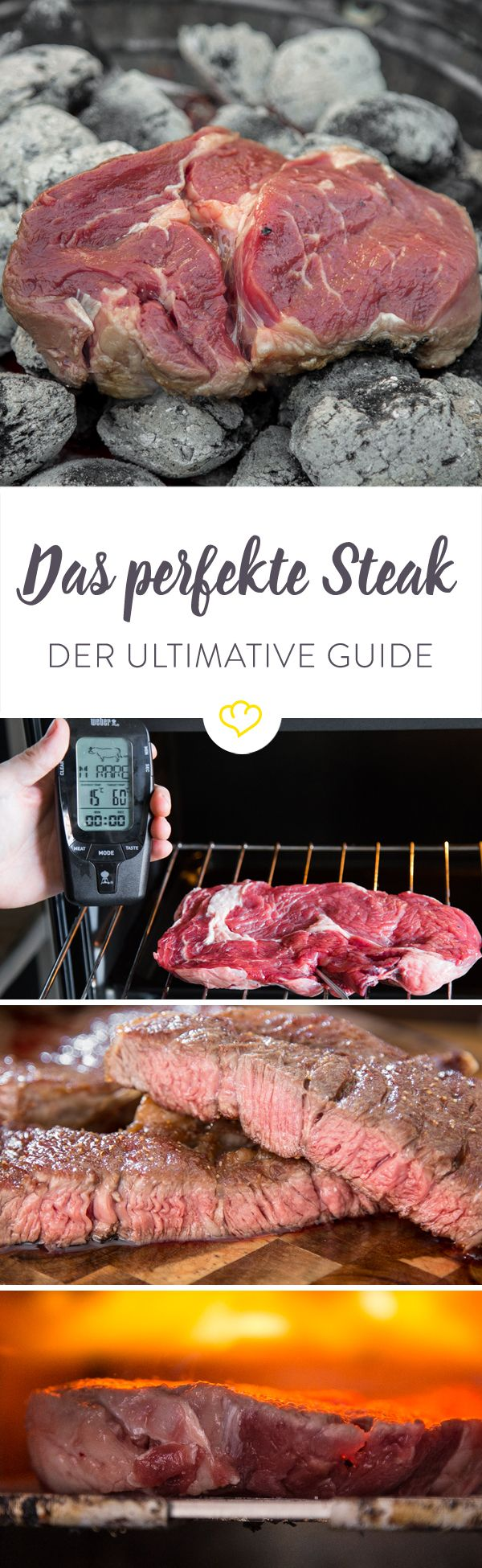 Es geht doch wirklich nichts über ein gutes Steak! Der Anblick fasziniert uns und der Appetit auf ein Stück gebratenes Fleisch scheint bei den meisten Menschen in den Genen zu liegen, so wie laufen und sprechen lernen. Doch wie bekomme ich ein perfektes Steak zu Hause hin? Was brauche ich dafür? Welche Methode ist die beste? Das alles und noch viel mehr erfährst du in diesem ultimativen Guide!