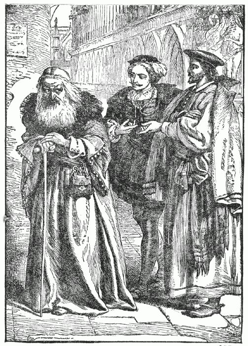 the development of shylock in the merchant of venice by william shakespeare The merchant of venice is a richly complicated work in which several themes are   its villain is a stereotypical jew, and his jewishness is persistently derided by  the  villainous title character probably influenced the creation of shylock also.