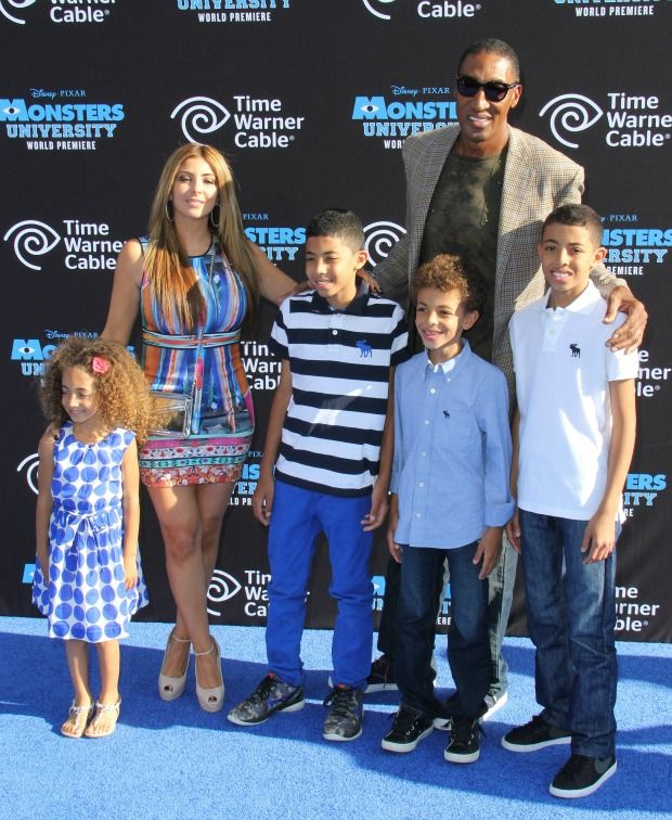Scottie Pippen's Wife Larsa: Things You Should Know -- # Larsa and Scottie have 4 Kids Together