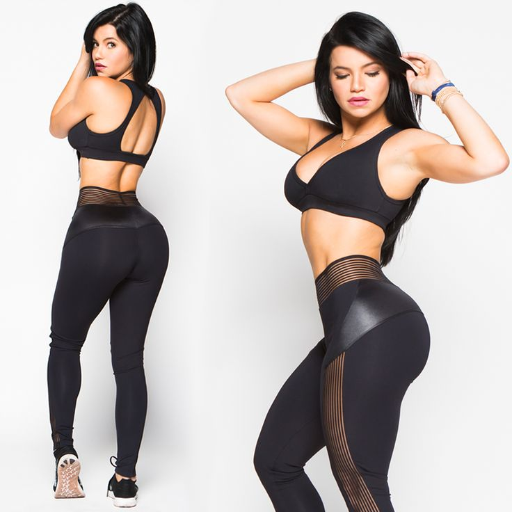 """Elite"" Leggings - Black - NEW – SuperFitBabes"