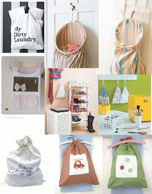 Agenda de Casa: Dica de sacos para roupa suja