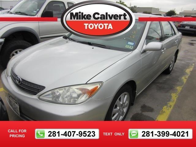 2003 Toyota Camry XLE 77k miles $10,980 77980 miles 281-407-9523  #Toyota #Camry #used #cars #MikeCalvertToyota #Houston #TX #tapcars