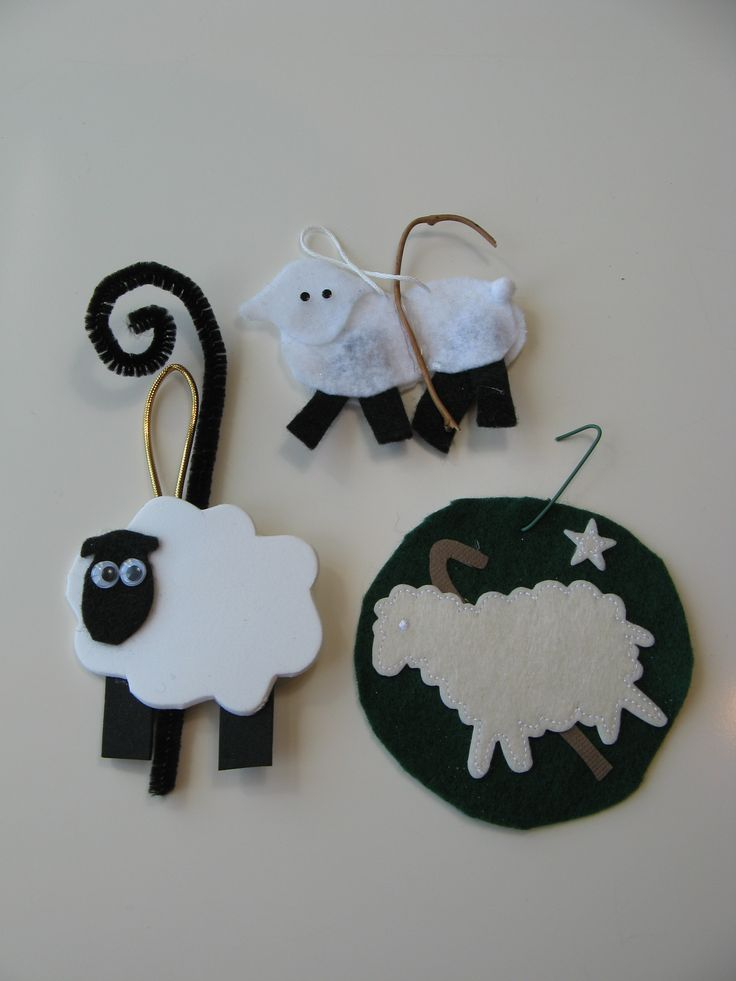 Sunday School Christmas Ornaments