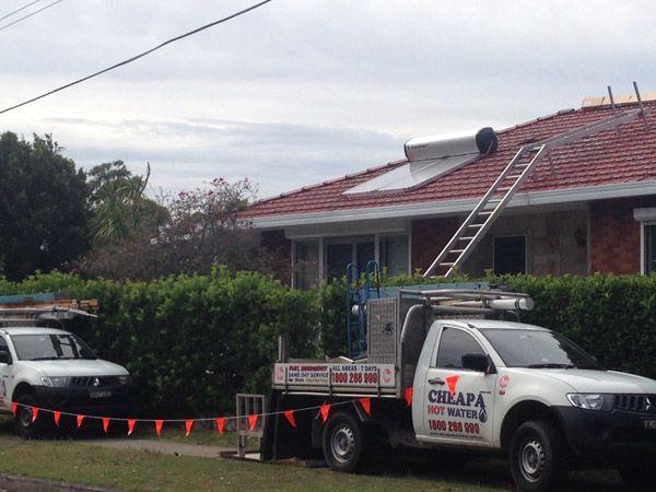solar hot water repairs sydney