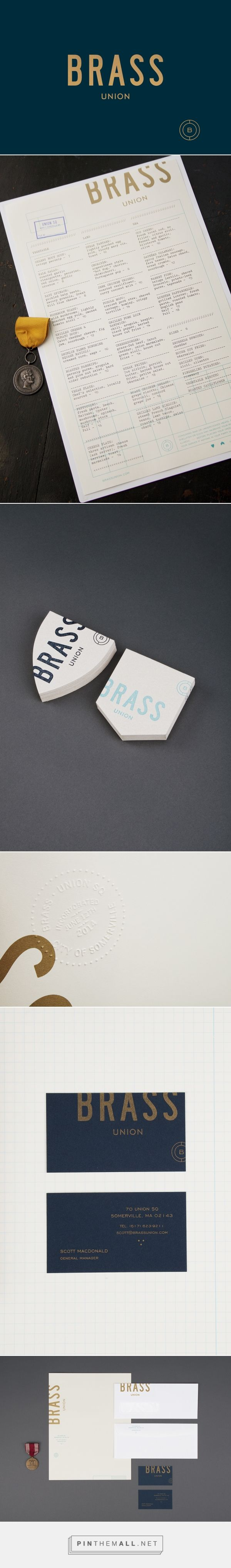 New Brand Identity for Brass Union by Oat — BP&O... - a grouped images picture - Pin Them All