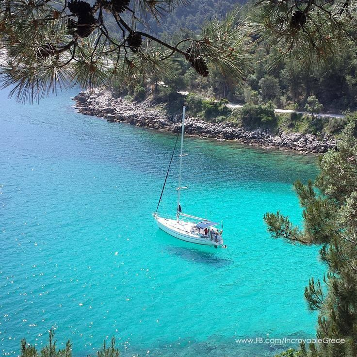 Saliara beach, Thassos, Greece