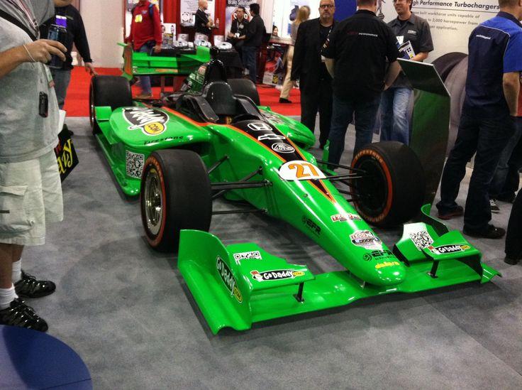 Danica Patrick's Indy car