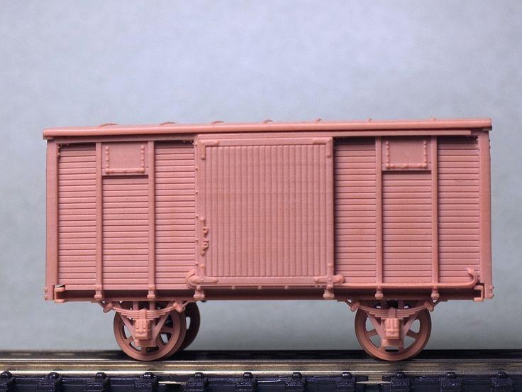 Нормальный товарный вагон в разработке. - стр. 3 - Модели своими руками - NSCALECLUB.RU