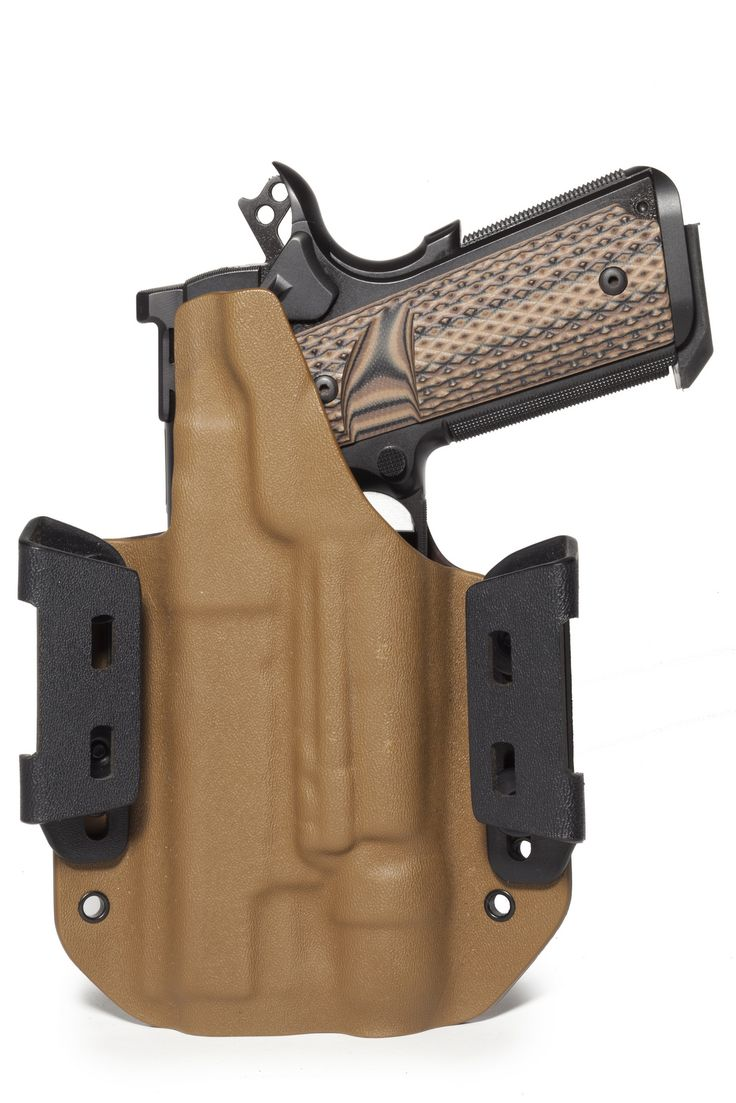 Custom kydex holster for 1911 with light.