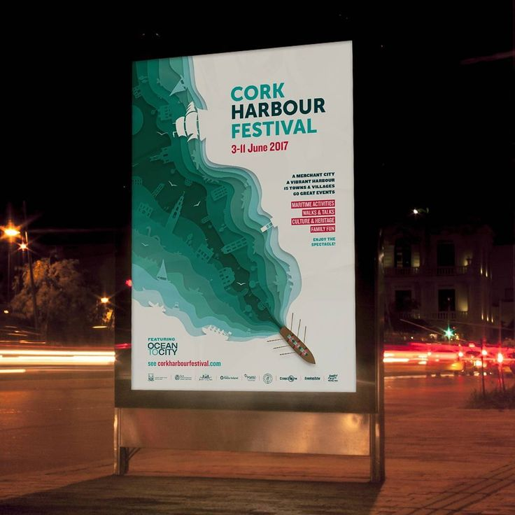 We are very excited for @corkharbourfestival2017 to start this weekend #festival #cork #wcportfolio #design #work #poster #booklet