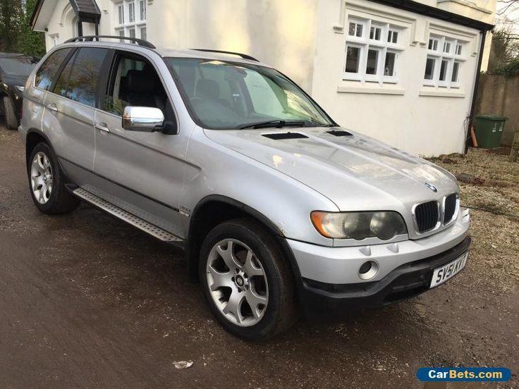 2001 51 BMW X5 D AUTO DIESEL SILVER SPARES OR REPAIRS  #bmw #x5dauto #forsale #unitedkingdom