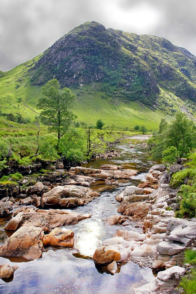 River Etive in Glen Etive, Scotland