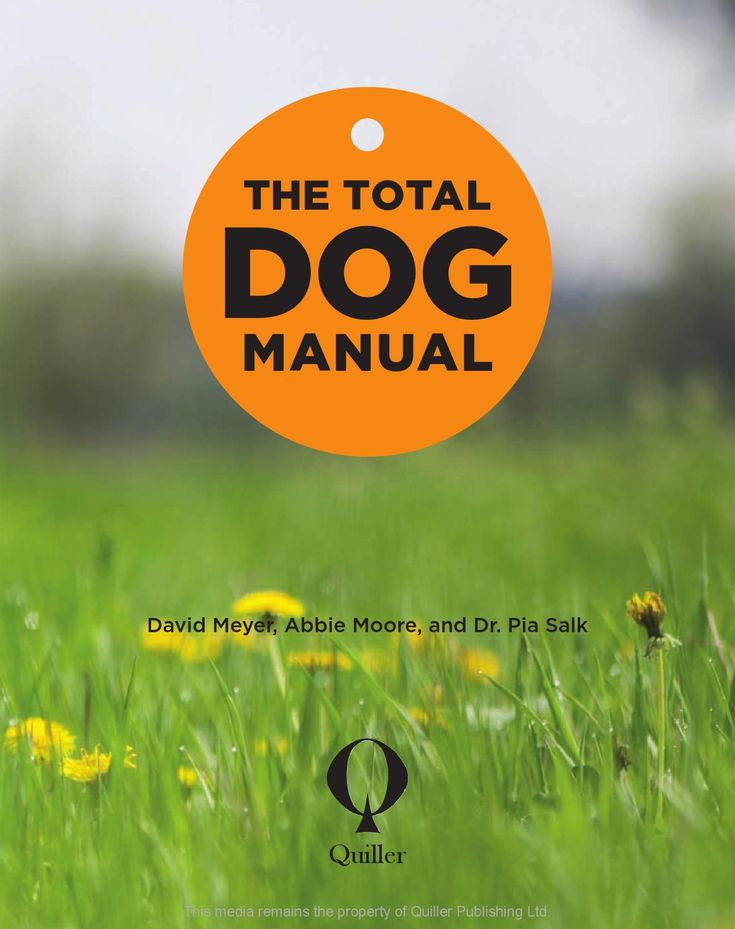 The Total Dog Manual  The definitive resource for dog owners – all you ever need to know from how to choose and understand your dog through to training and caring. This will help all dog owners to have the best possible relationship with your dog throughout their life.