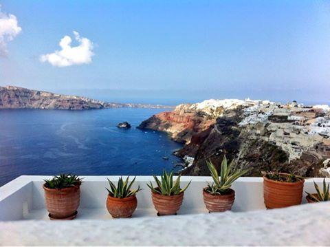 #Panoramic #view of #Oia #Santorini #Greece #travel