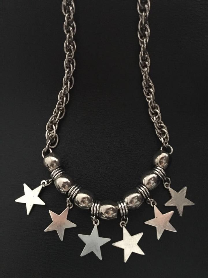 Collar YOKE Star * - Buscanos en Facebook Rainbow VC