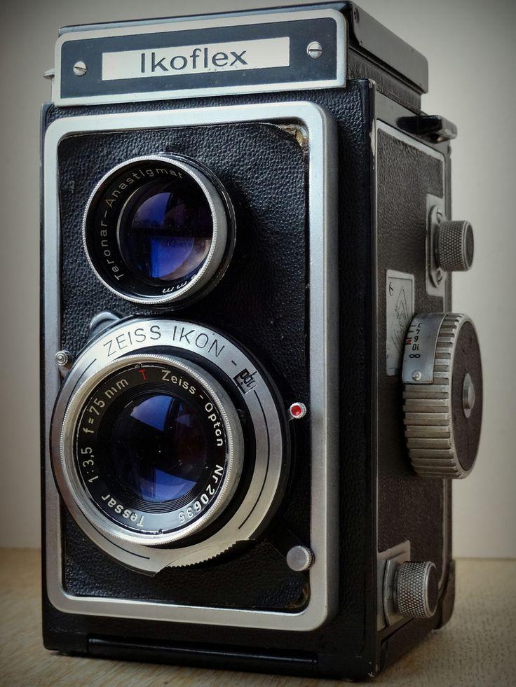 Zeiss Ikon Ikoflex #vintage #camera