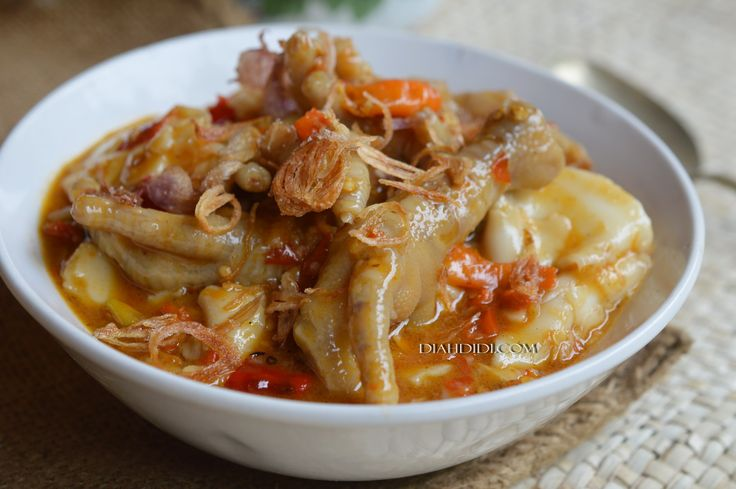 Diah Didi's Kitchen: Seblak Ceker Super Pedasss