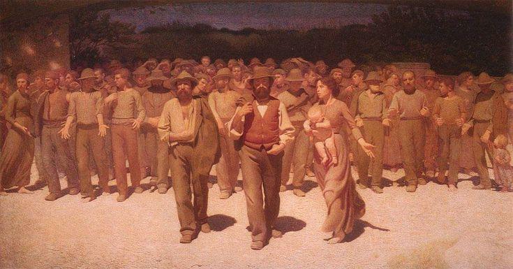 Il Quarto Stato - Giuseppe Pellizza da Volpedo presso Museo del Novecento