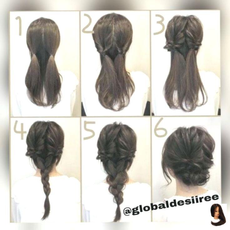 #Einfach #Ha #Frisur für die Arbeit #Frisuren #Medium #Welt [New] Die 10